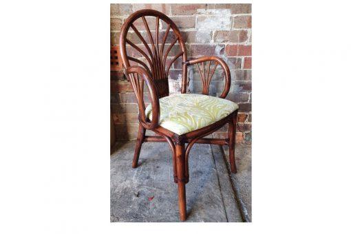 Caracas cane armchair