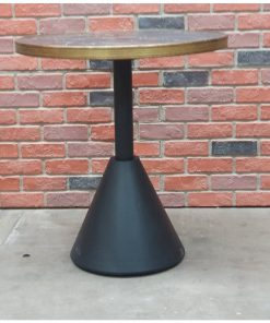 Conical table base
