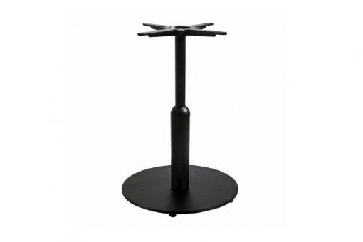 Mild steel round unique table base