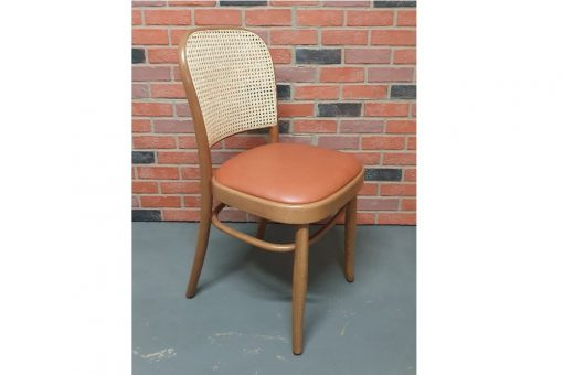 Hoffman with leather seat